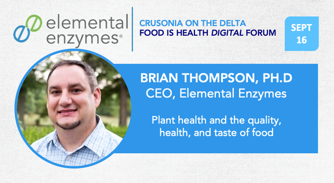 Join us September 16th for the Crusonia Conversation with Brian Thompson