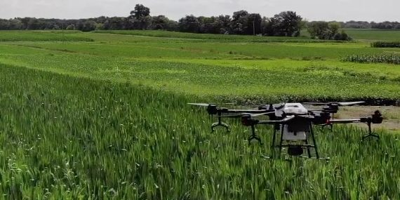 Low Volume Spray Drones: Using innovative technology to drive agriculture product development